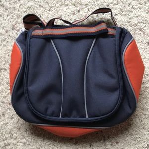 GAP Kids Lunch Box Orange Blue Lunch Bag w/Strap